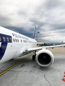 Flug nach Breslau Wroclaw
