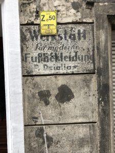 German traces in Wroclaw Nadodrze