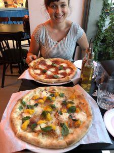 Pizza in Breslau