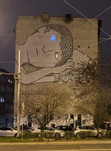 Street Art in Nadodrze Breslau Wroclaw