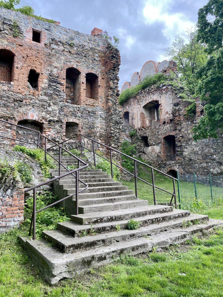 Ruinen vom Schloss Frankenstein