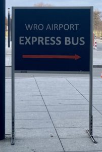 Wroclaw airport express bus