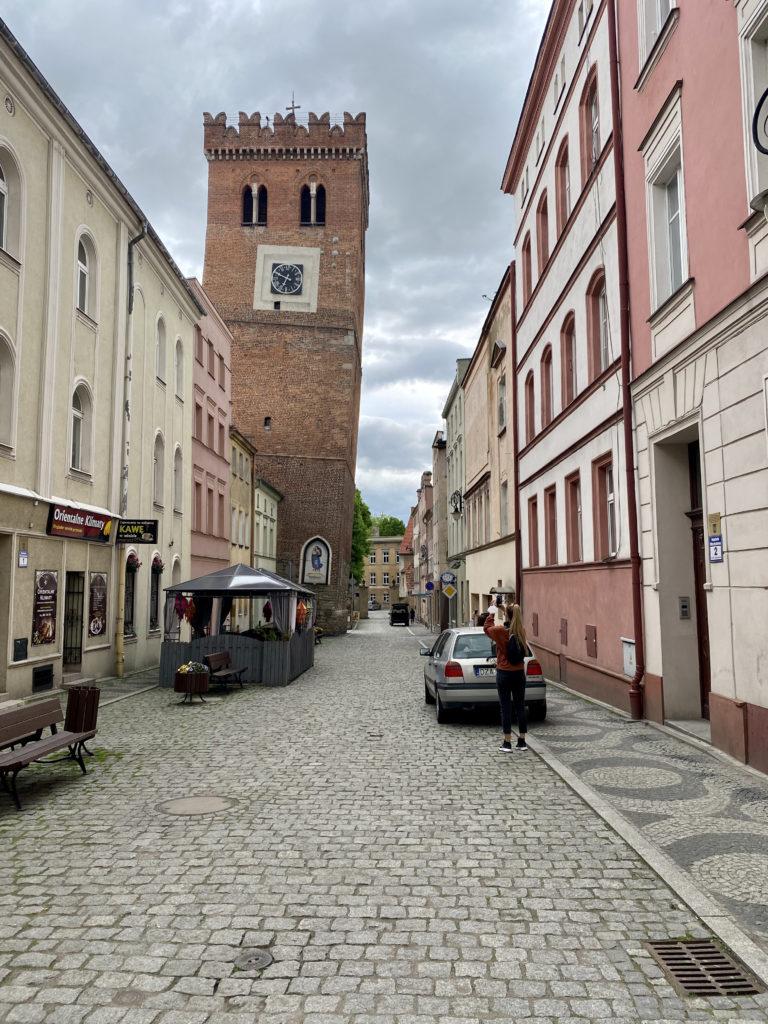 Leaning Tower Ząbkowice Śląskie