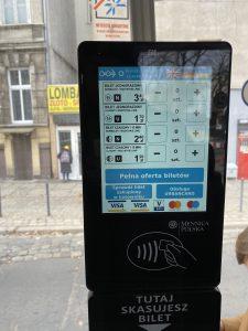 Buy tram ticket in wroclaw
