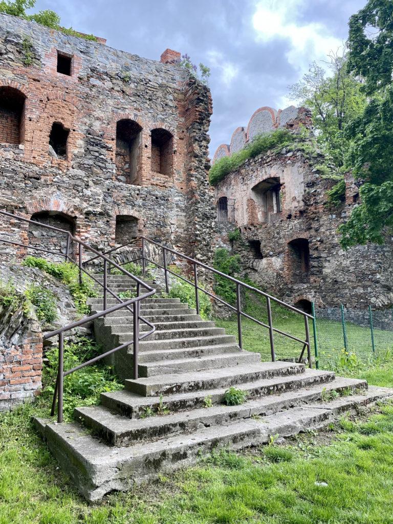 Ruins in Ząbkowice Śląskie