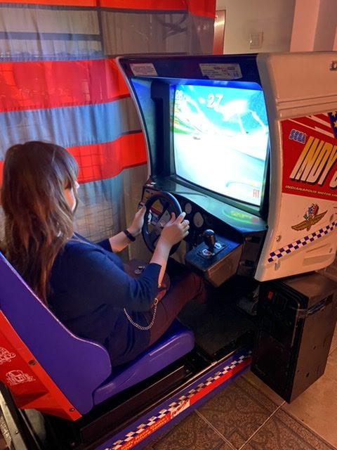 Ewa is racing