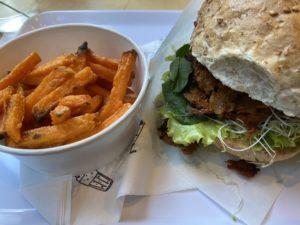 Vegan burger in wroclaw breslau