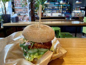 Greenbus burger wroclaw breslau vegetarian