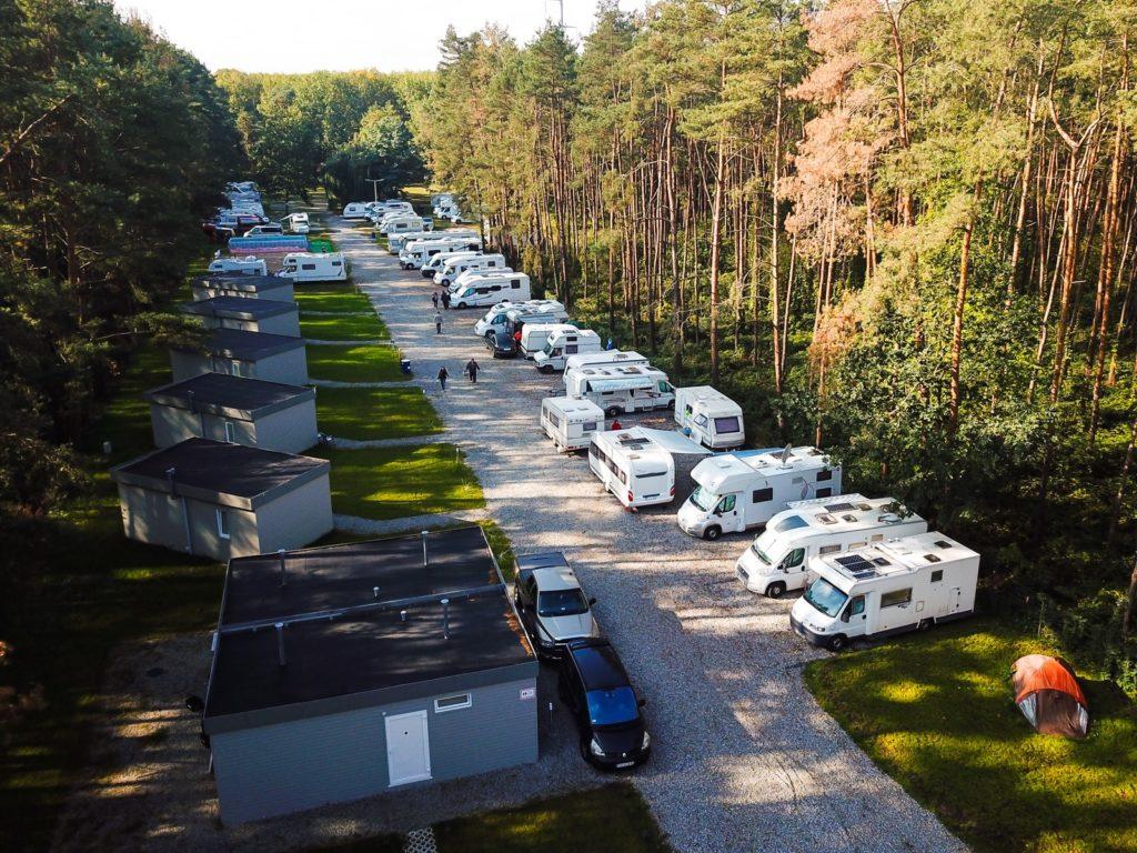 Camping in Breslau