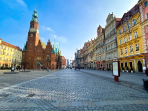Rynek Market Square in Wroclaw