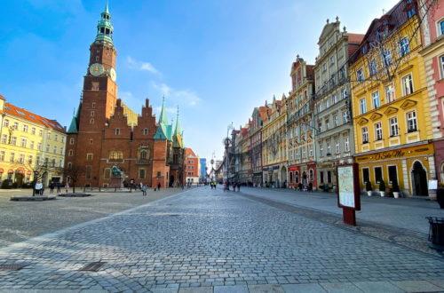 Rynek Marktplatz wroclaw breslau
