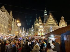 December in Wroclaw Christmas Market