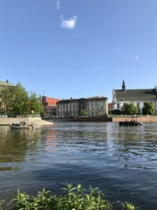 Water in wroclaw