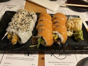 Yemsetu sushi Wroclaw