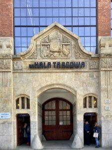 Die Markthalle von Breslau
