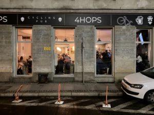 4HOPS Cycling Pub in Wroclaw