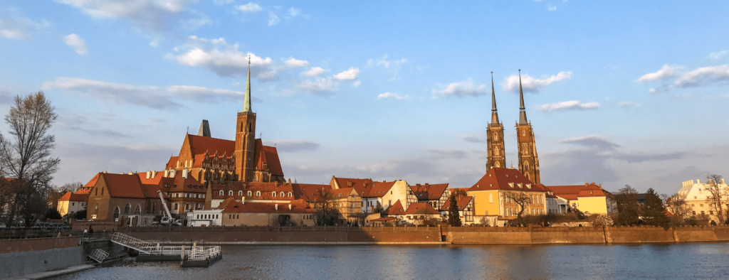 Wroclaw Panorama View
