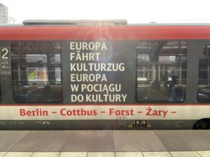 The culture train from Berlin to Wroclaw