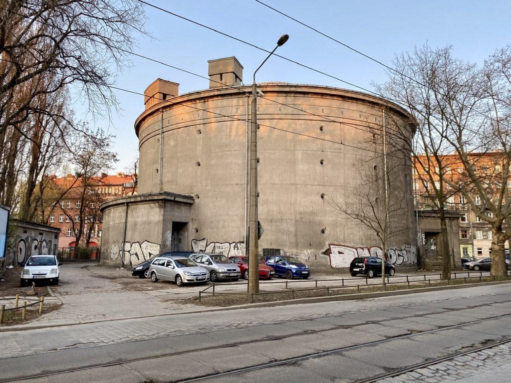 German Bunker Ołbińska 30 Wroclaw Nadodrze