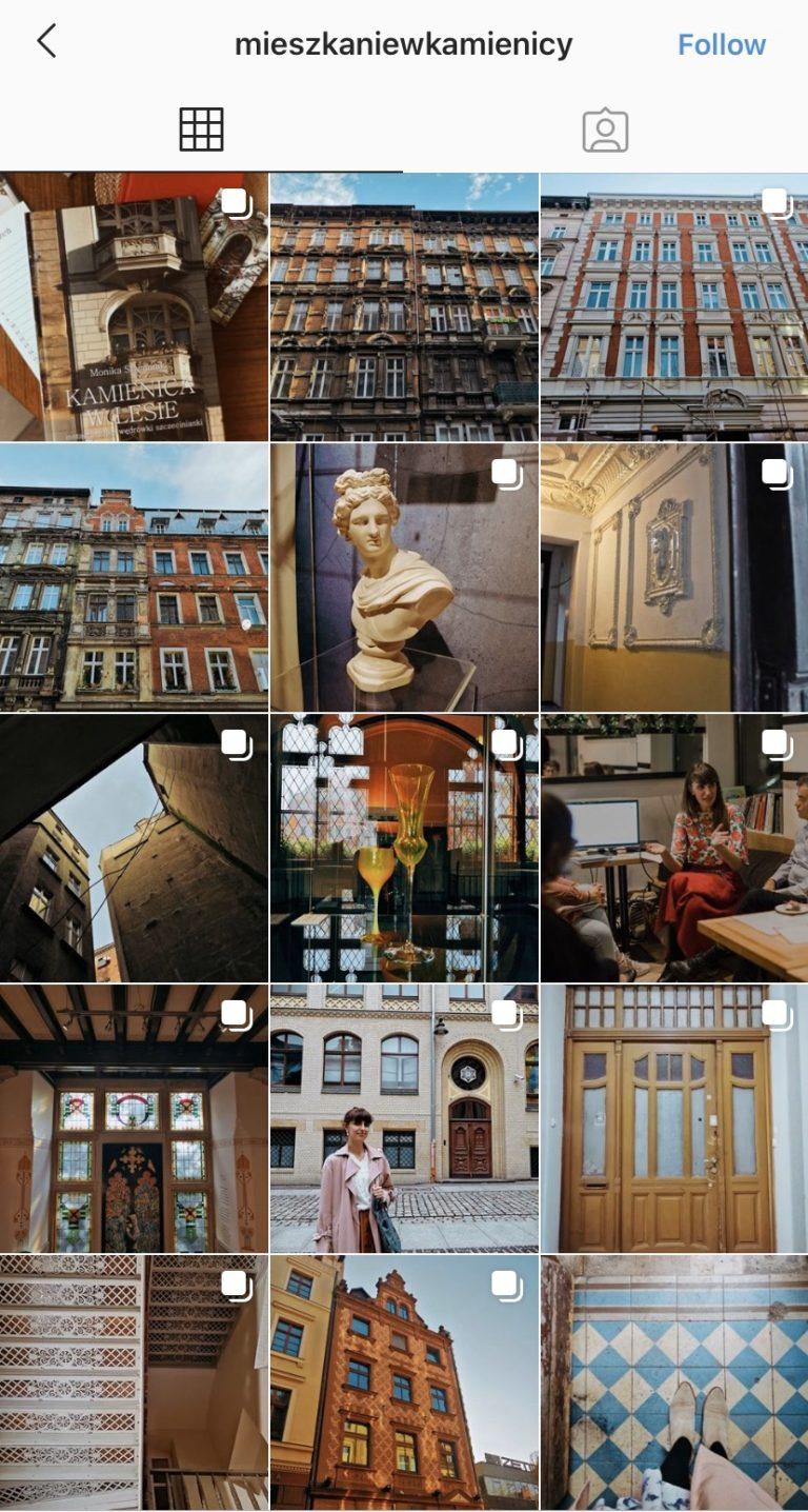 Instagram Profile mieszkaniewkamienicy