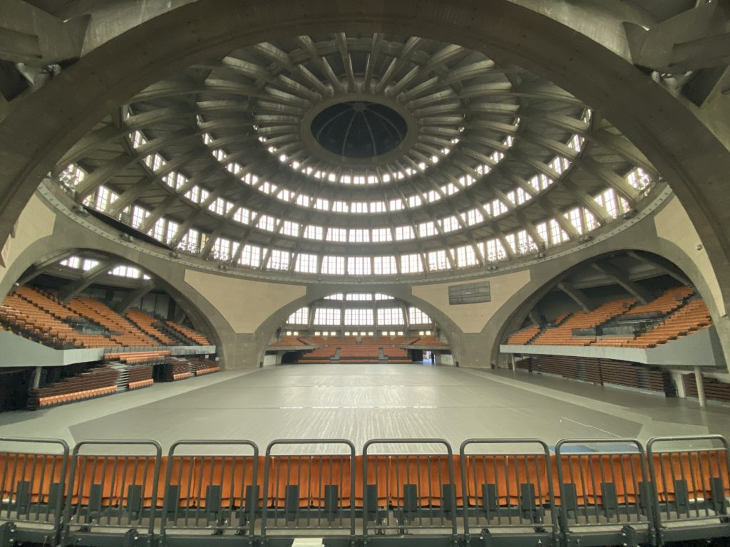 Centennial Hall Wroclaw from inside