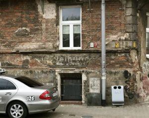 Deutsche Schilder in Nadodrze Wroclaw Breslau