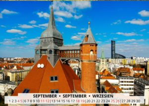 September Wroclaw Calendar