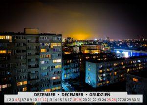 December Wroclaw Calendar