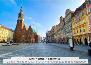 June Wroclaw Calendar