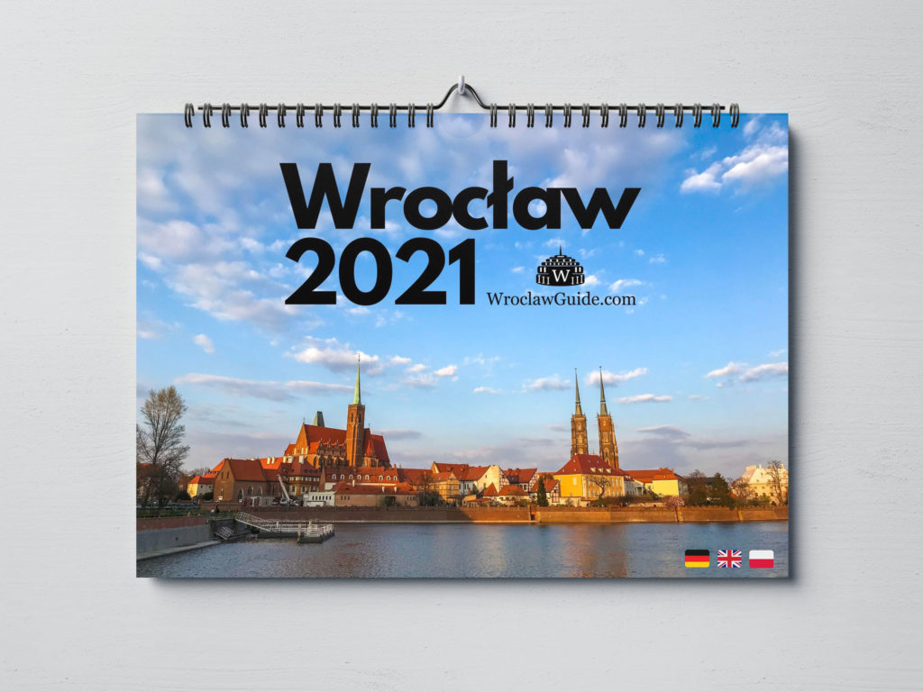Calendar 2021 Wroclaw Poland