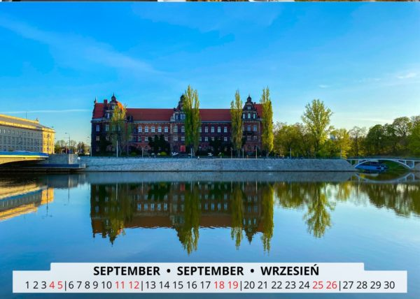 Breslau an der Oder im September