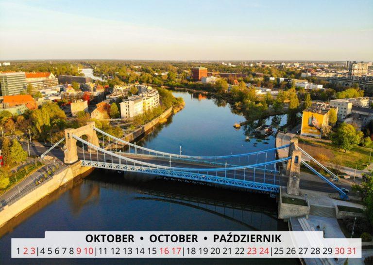 Breslau an der Oder im Oktober