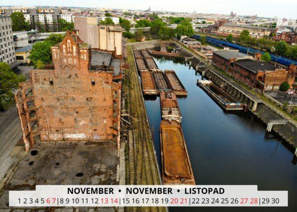 Breslau an der Oder im November