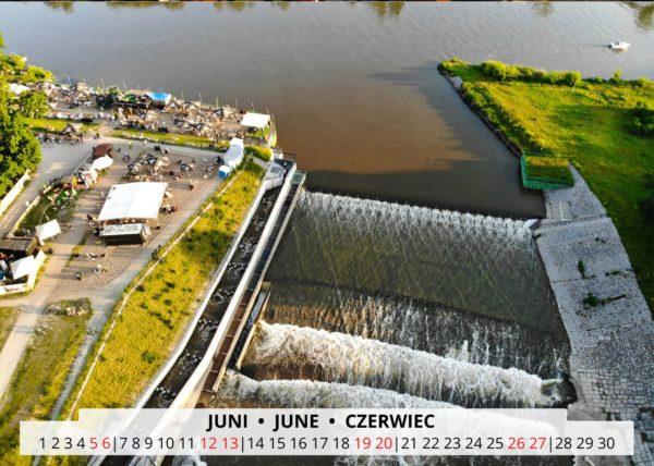 Breslau an der Oder im Juni