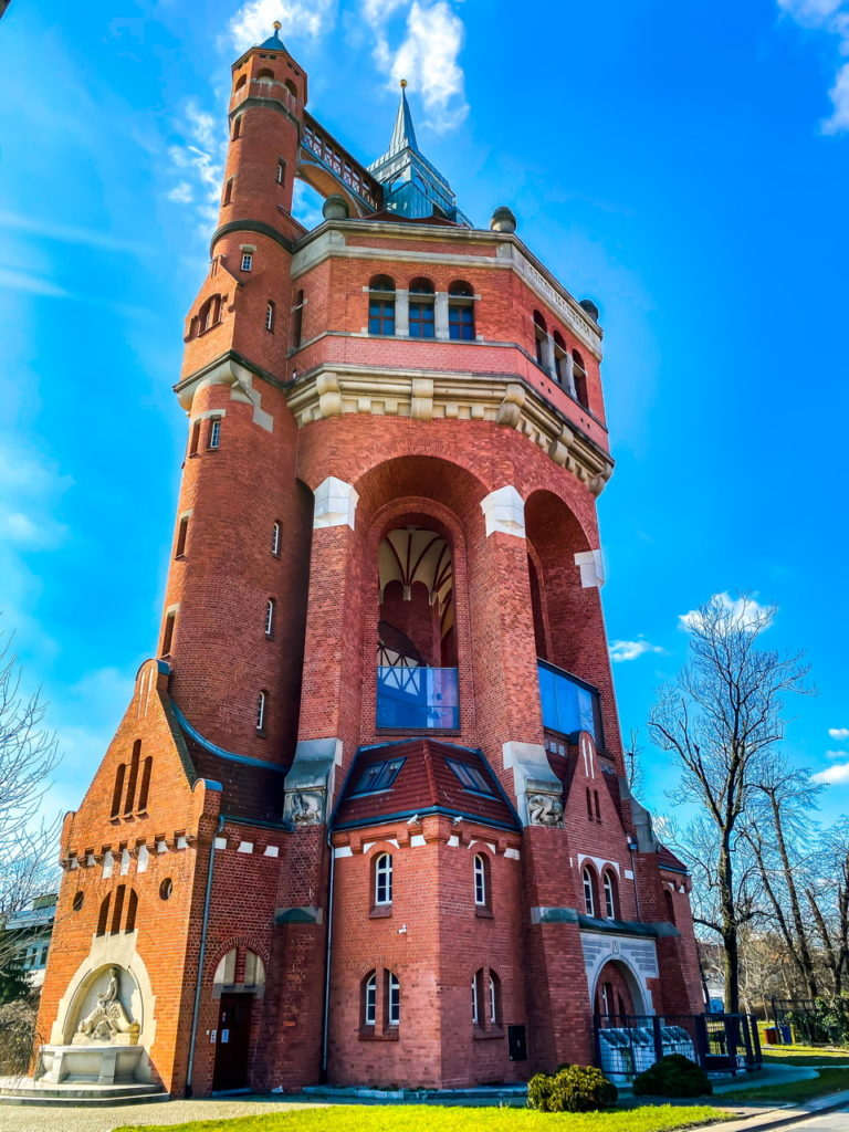 The Water Tower in Wroclaw