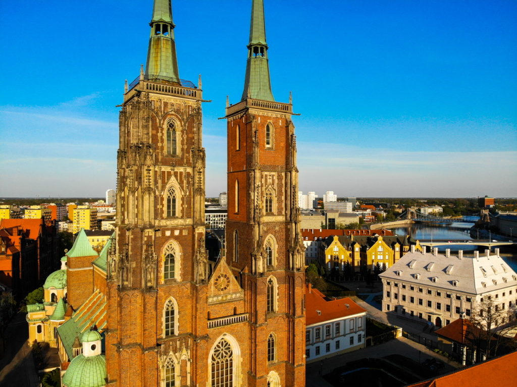 The Cathedral in Wroclaw