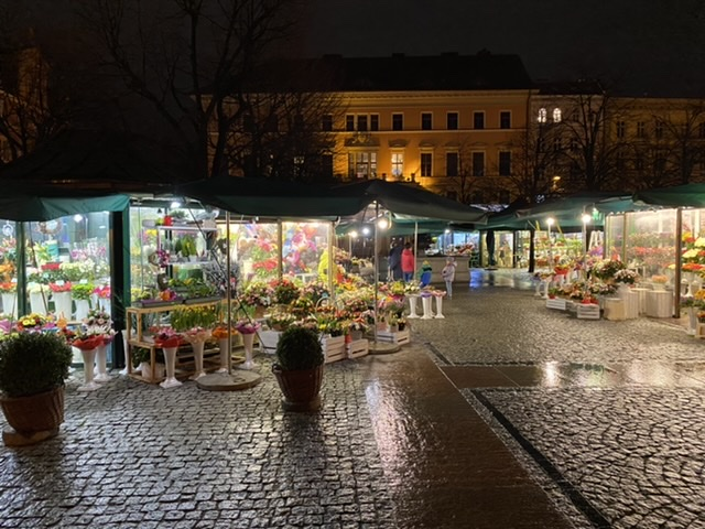 Plac Solny Wroclaw Flower Market