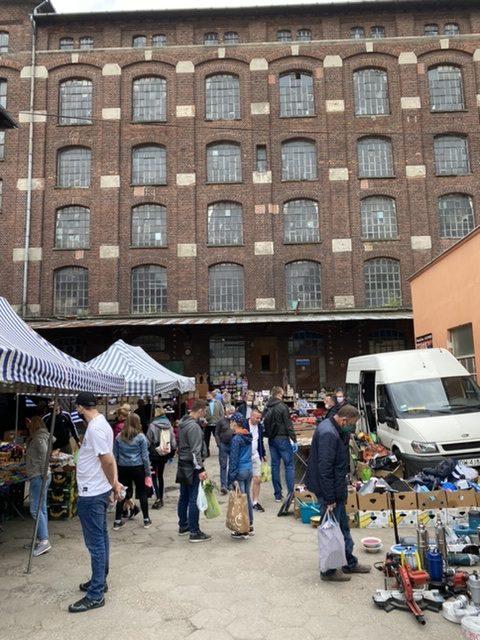 Mlyn Flea Market Wroclaw