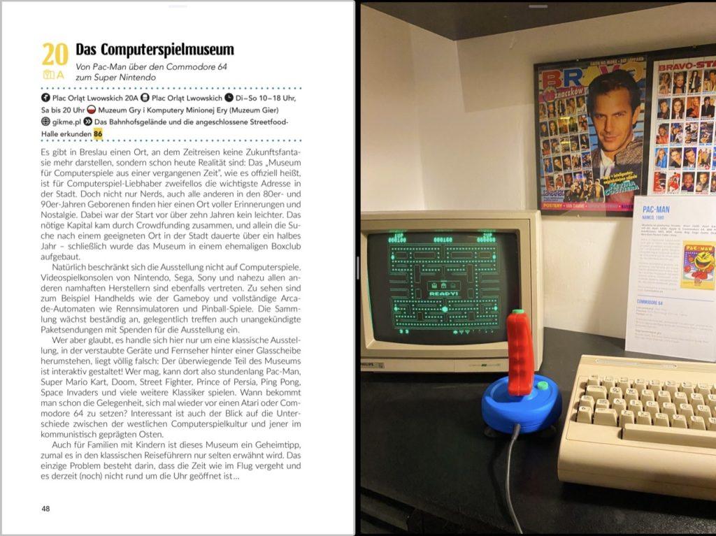 Buchvorschau Breslau Reiseführer Computerspielemuseum