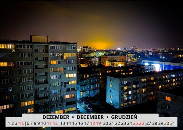 Dezember Wandkalender Breslau