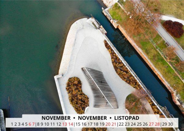 November Wandkalender Breslau