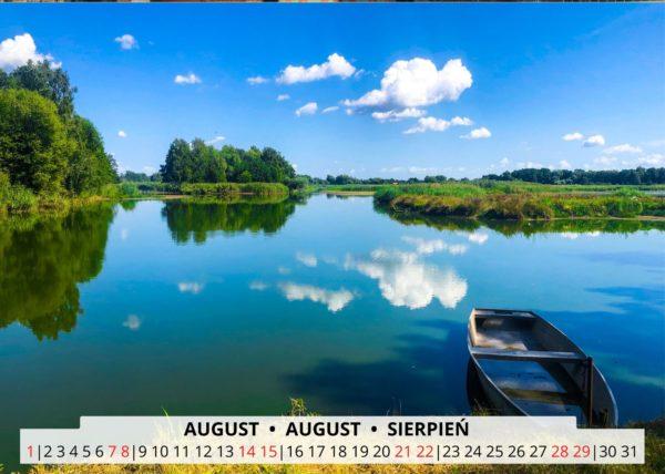 August Wandkalender Breslau