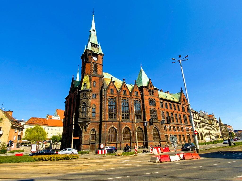 Die Bücherei der Universität in Breslau
