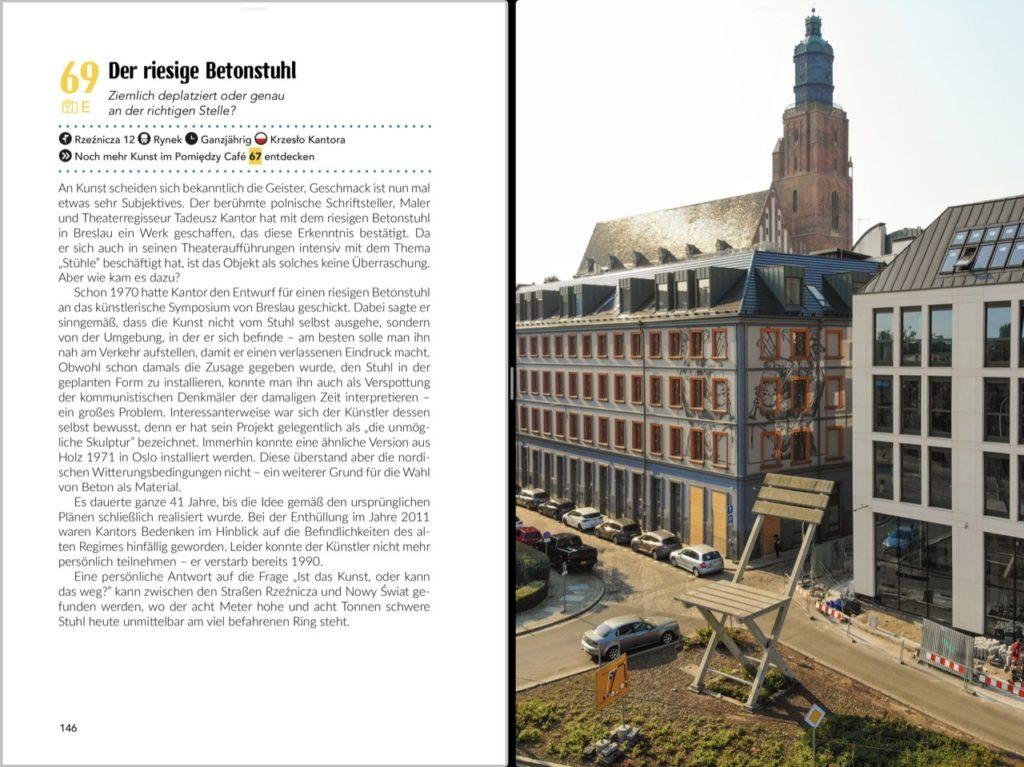 Buchvorschau Breslau Reiseführer Der Betonstuhl