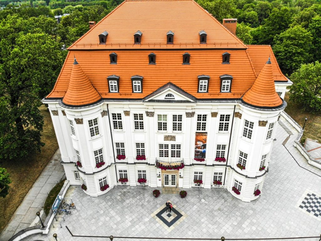 Schloss Lissa in Breslau