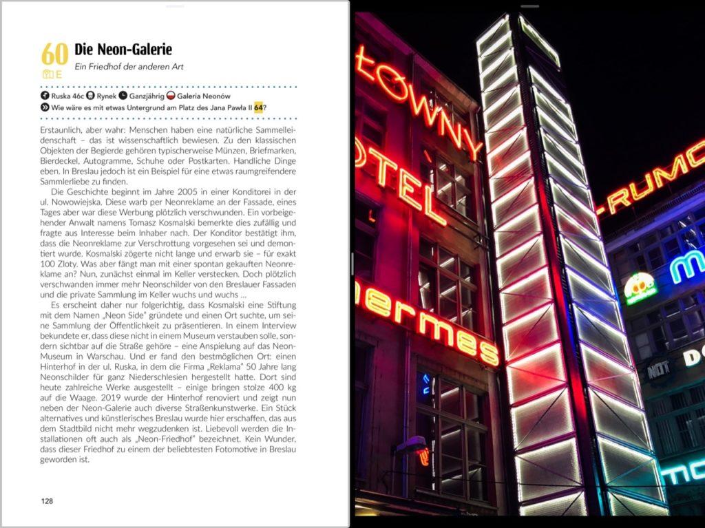 Buchvorschau Breslau Reiseführer Neon Galerie