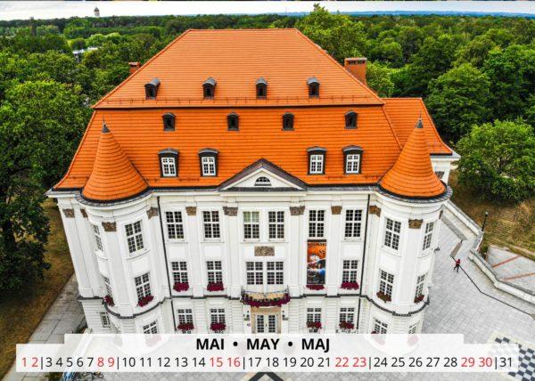 Mai Wandkalender Breslau