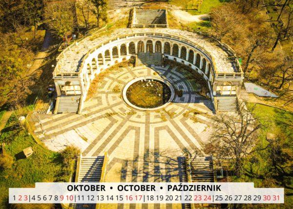 Oktober Wandkalender Breslau