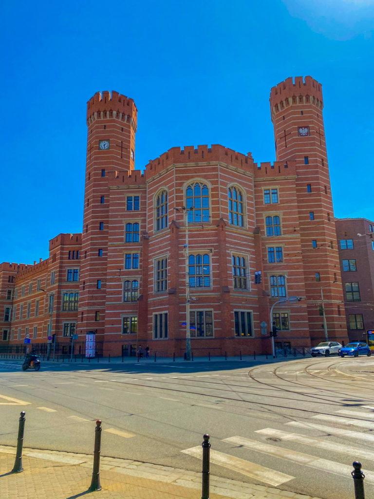 Das Gerichtsgebäude in Breslau
