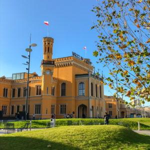 Der Hauptbahnhof in Breslau